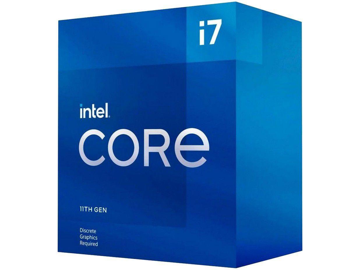 Processador Intel Core i7 11700 2.50GHz - 4.80GHz Turbo 16MB