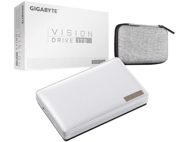 SSD Externo Gigabyte 1TB USB 3.2 - Leitura 2000MB/s e Gravação 2000MB/s Vision Drive