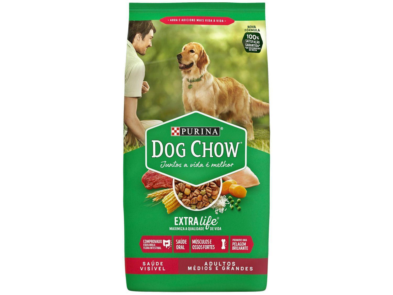 Ração Premium para Cachorro Dog Chow - ExtraLife Adulto 1kg