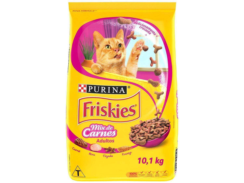 Ração Premium para Gato Friskies - Mix de Carnes Adulto 10,1kg