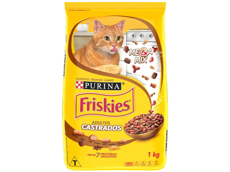 Ração Premium para Gato Castrado Friskies - Megamix Adulto 1kg