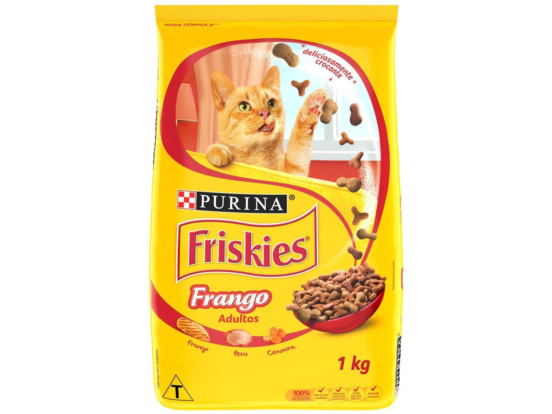 Ração Premium para Gato Friskies - Frango Adulto 1kg