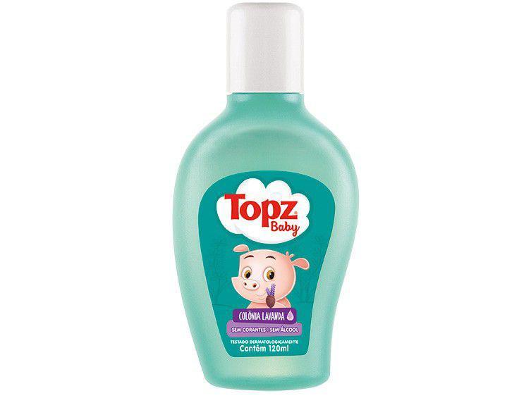 Colônia Infantil Topz Baby Lavanda 120ml