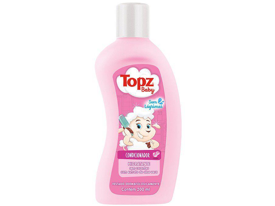 Condicionador Infantil Topz Baby Hidratante 200ml