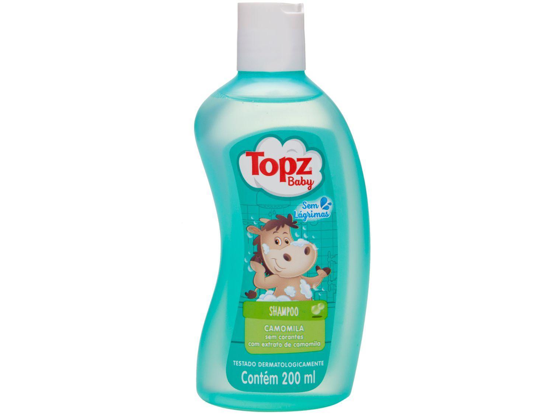 Shampoo Infantil Topz Baby Camomila 200ml
