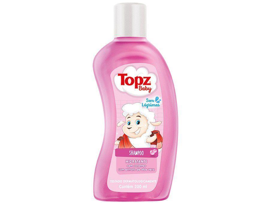 Shampoo Infantil Topz Baby Hidratante 200ml