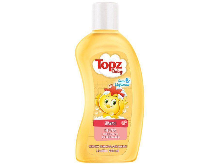 Shampoo Infantil Topz Baby Neutro 200ml
