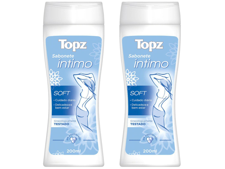Sabonete Íntimo Topz Soft 200ml 2 Unidades
