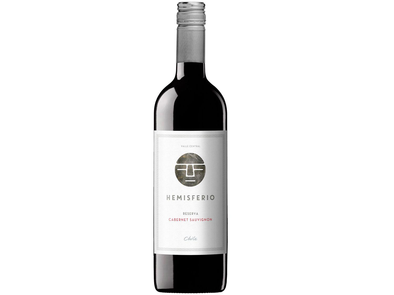 Vinho Tinto Seco Hemisferio Reserva - Cabernet Sauvignon 2017 Chile 750ml