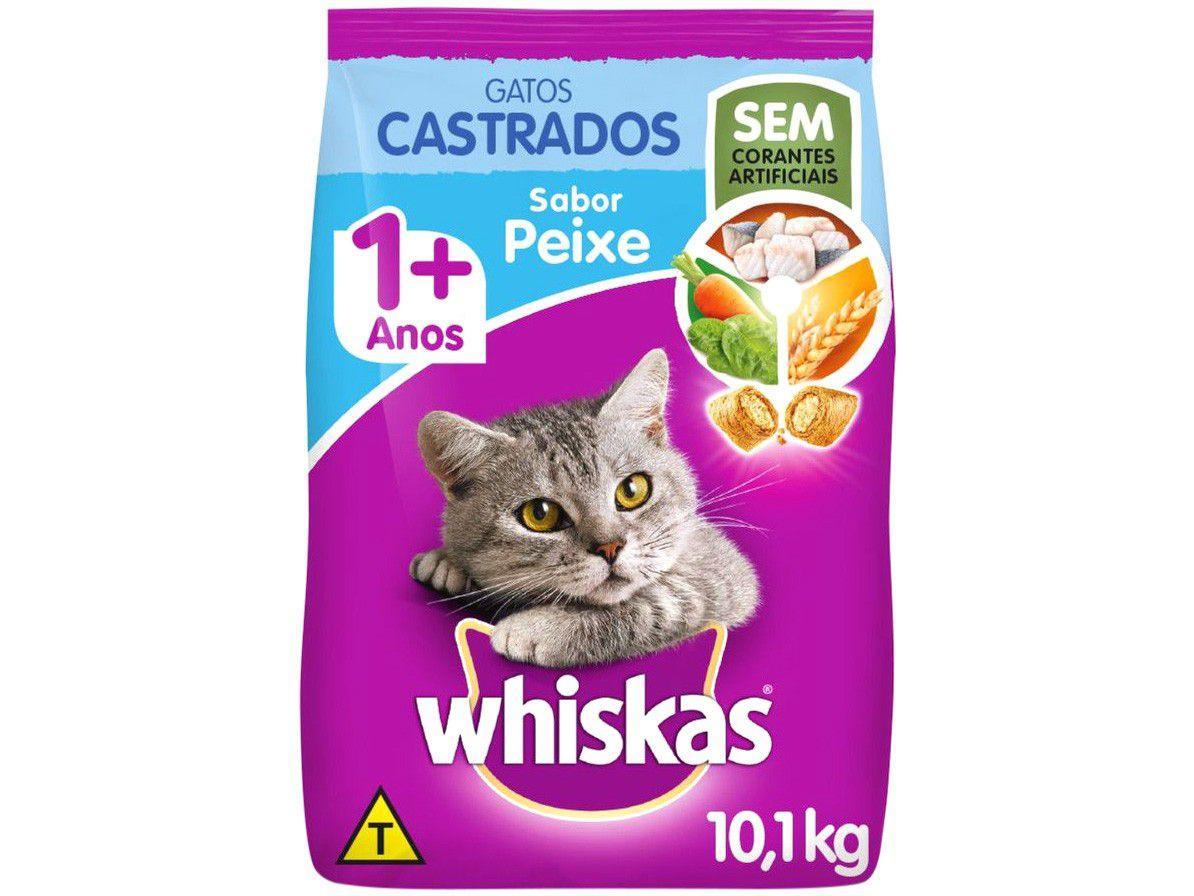 Ração para Gato Whiskas Peixe Adulto 10,1kg
