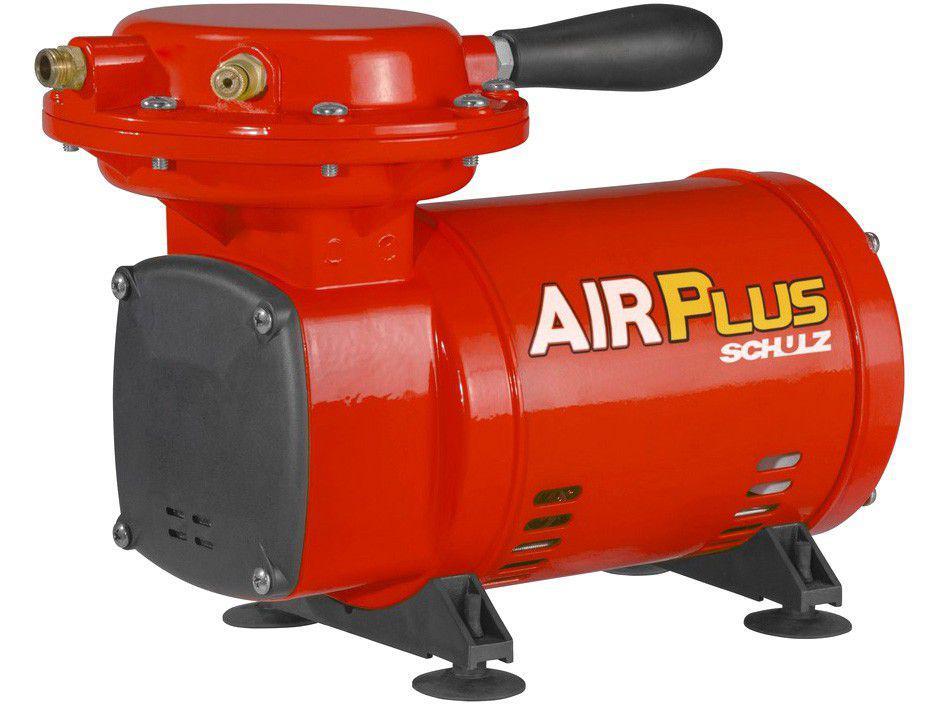 Compressor de Ar Schulz 1/3 2,3 Pés Air Plus MS2.3