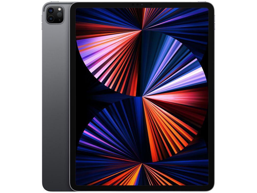 "iPad Pro 12,9"" Apple M1 Wi-Fi 512GB - Cinza-espacial"
