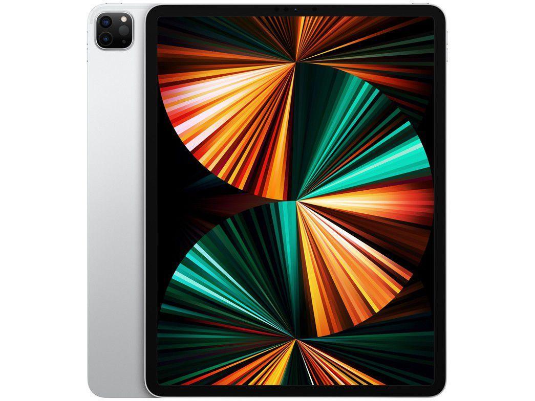 """iPad Pro 12,9"""" Apple M1 Wi-Fi 1T - Prateado"""