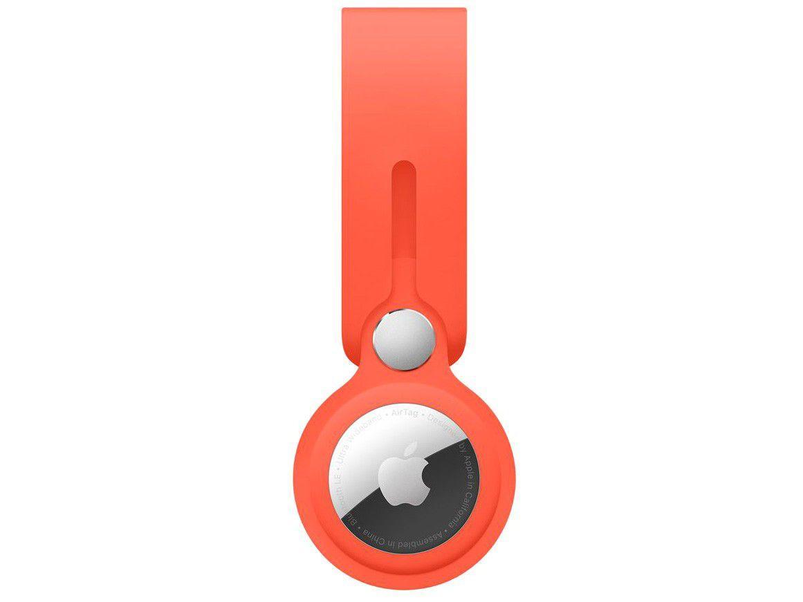 Laço para Apple AirTag - Laranja elétrico