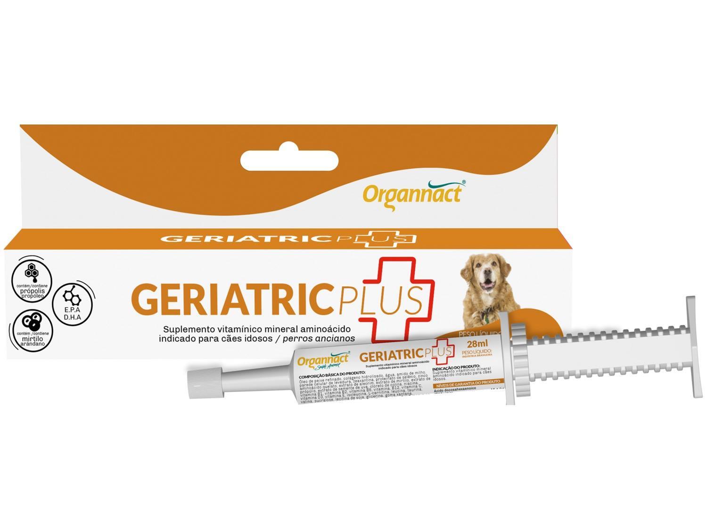 Suplemento Organnact Geriatric Plus - para Cachorro 28ml