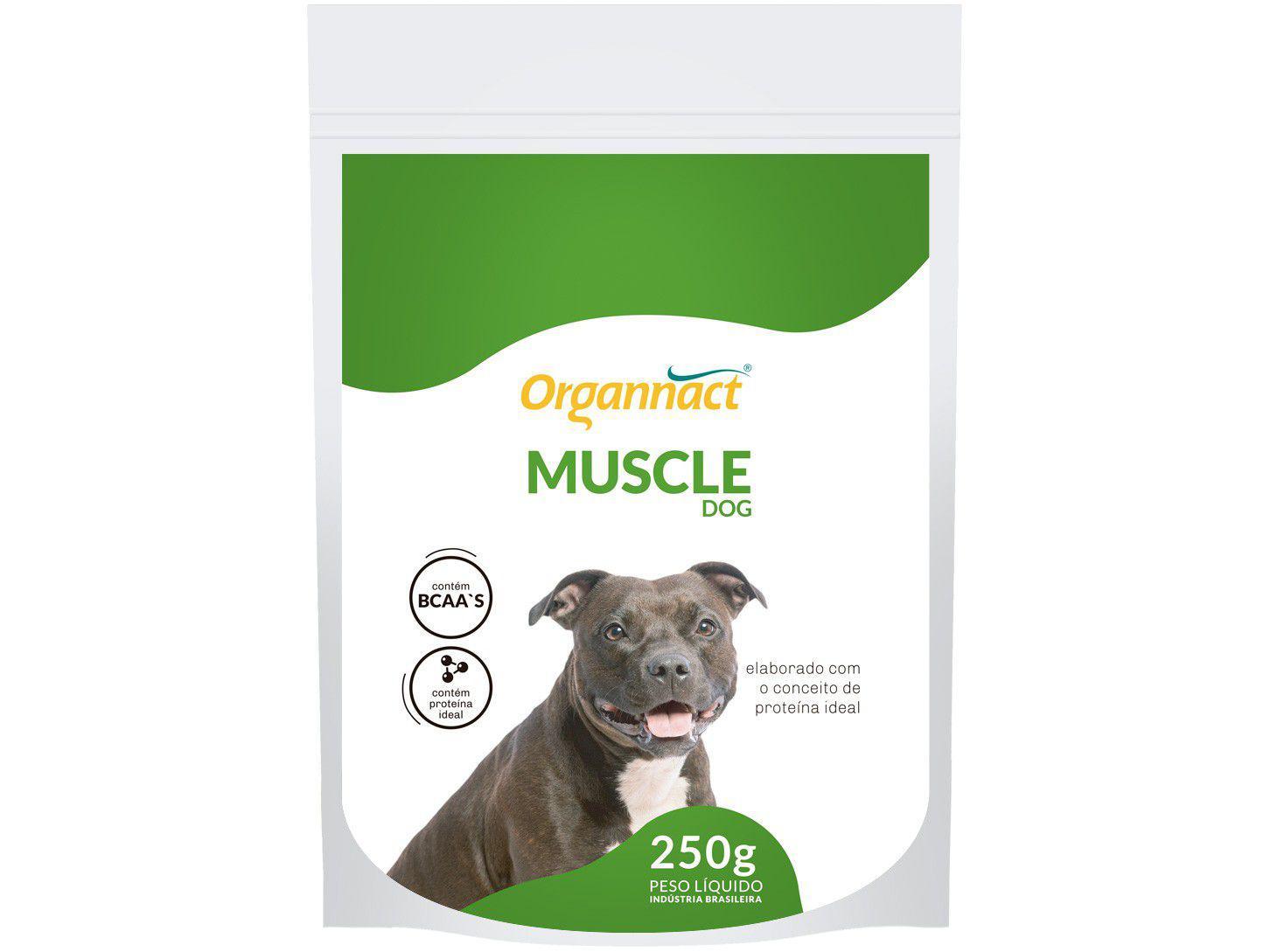 Suplemento Organnact Muscle Dog - para Cachorro 250g