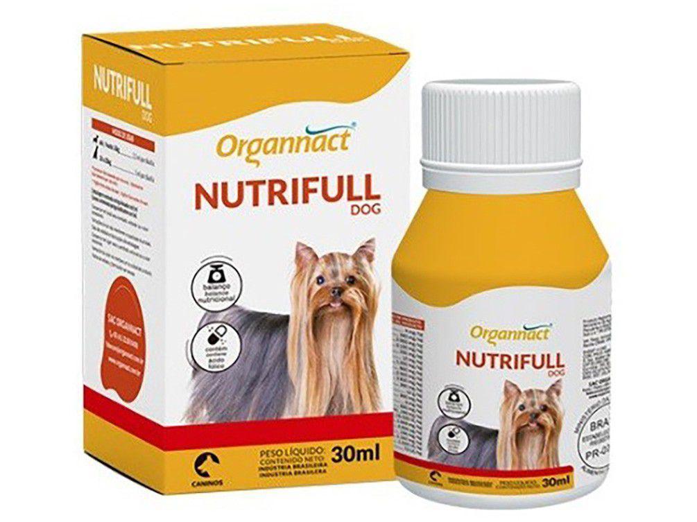 Suplemento Organnact Nutrifull Dog - para Cachorro 30ml