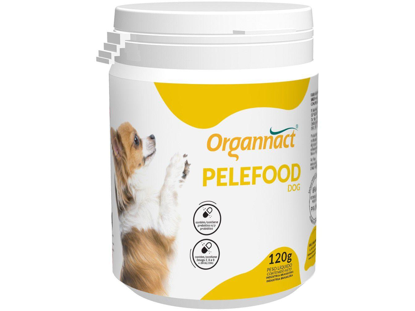 Suplemento Organnact Pelefood Dog - para Cachorro 120g