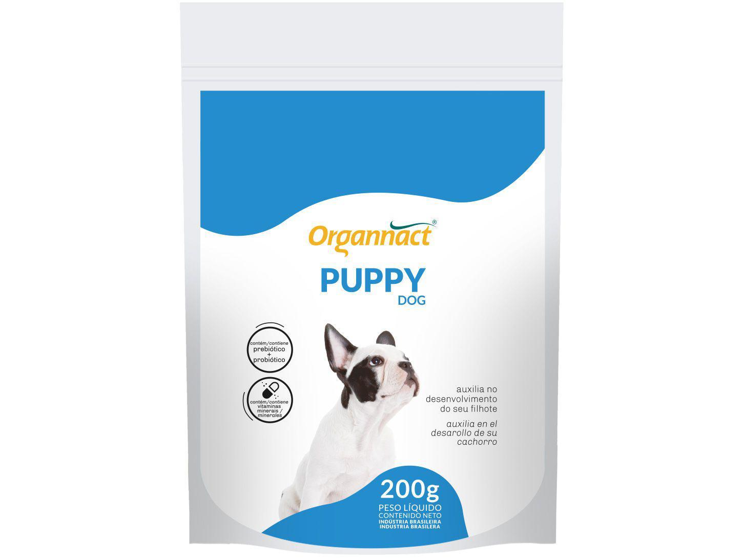 Suplemento Organnact Puppy Dog para Cachorro - 200g