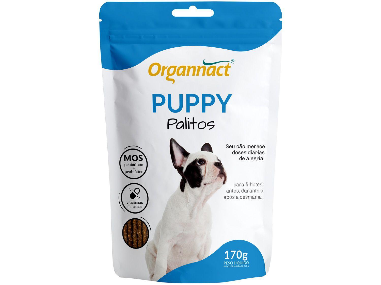 Suplemento Organnact Puppy Palitos - para Cachorro 170g