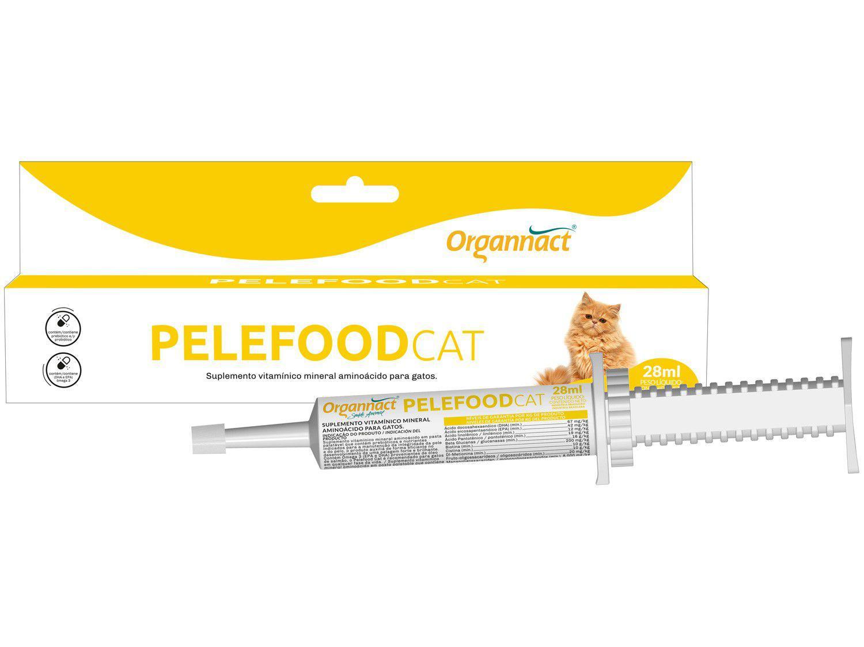 Suplemento Organnact Pelefood Cat - para Gato 28ml