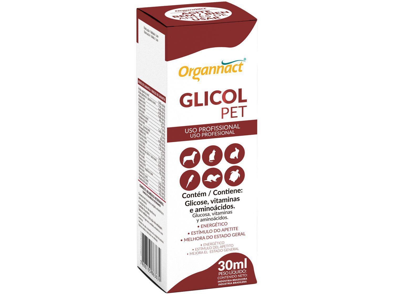 Suplemento Organnact Glicol Pet para Cachorro - 30ml