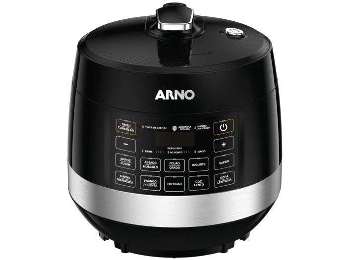 Panela de Pressão Elétrica Digital Arno PP50 - 900W 4,8L Timer