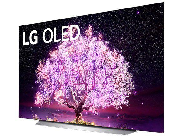 "Smart TV 55"" 4K UHD OLED LG OLED55C1PSA - 120Hz Wi-Fi e Bluetooth Alexa 4 HDMI 3 USB"