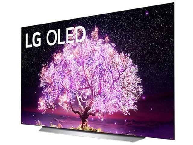 "Smart TV 48"" 4K UHD OLED LG OLED48C1PSA - 120Hz Wi-Fi e Bluetooth Alexa 4 HDMI 3 USB"