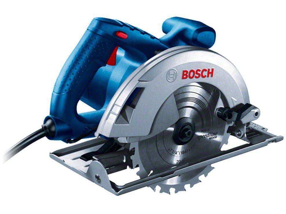 Serra Circular Elétrica Bosch GKS 20-65 184mm - 2000W 1 Velocidade