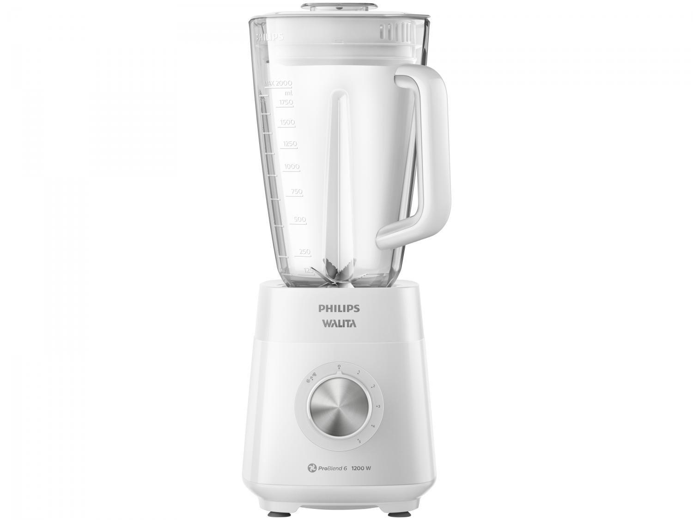 Liquidificador Philips Walita Serie 5000 - Problend 6 RI2240/00 Branco 5 Velocidades 1200W