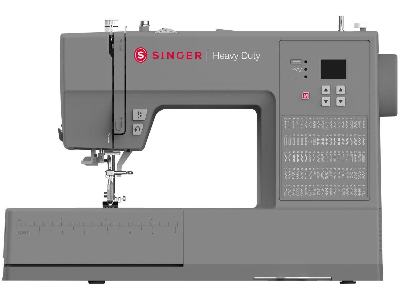 Máquina de Costura Singer Heavy Duty - HD6605 Portátil Eletrônica 100 Pontos