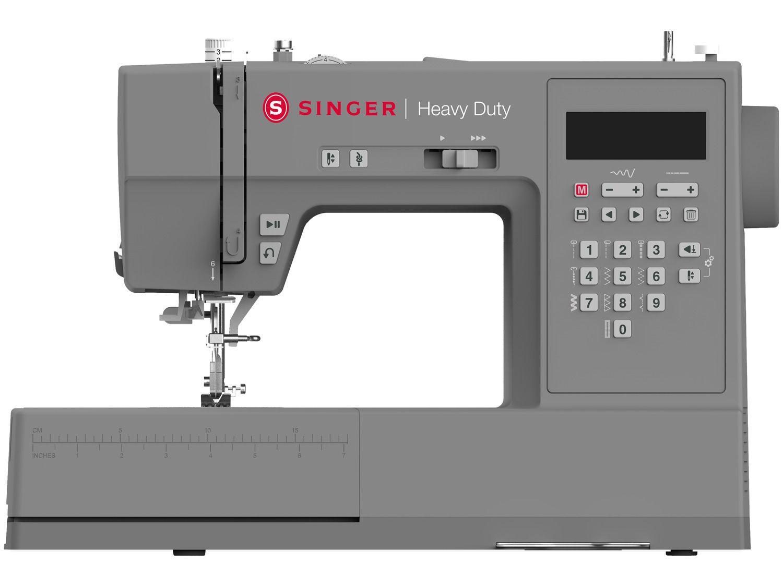 Máquina de Costura Singer Heavy Duty HD6705 - Portátil Eletrônica 200 Pontos