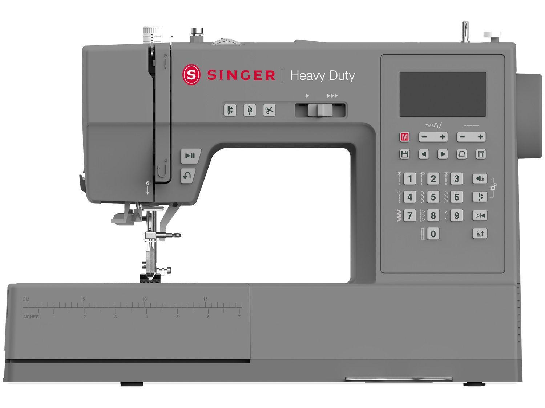 Máquina de Costura Singer Heavy Duty - HD6805 Portátil Eletrônica 300 Pontos