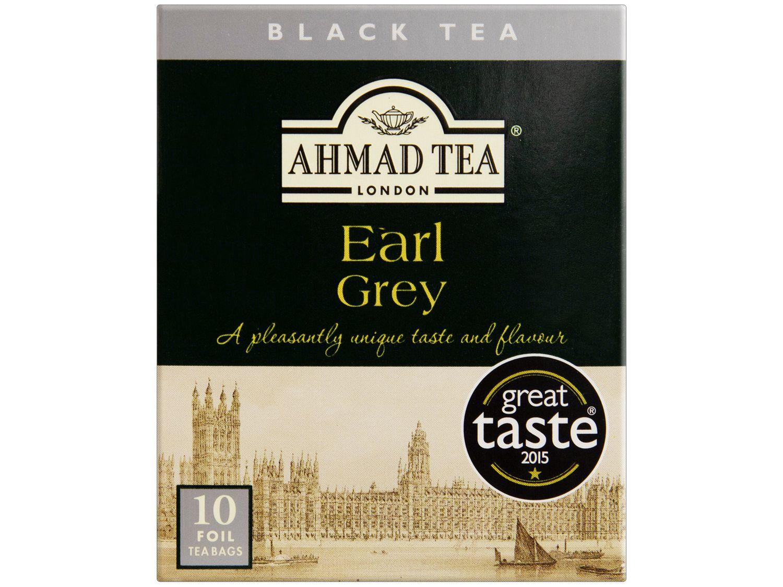 Chá Preto Ahmad Tea London Earl Grey 20g