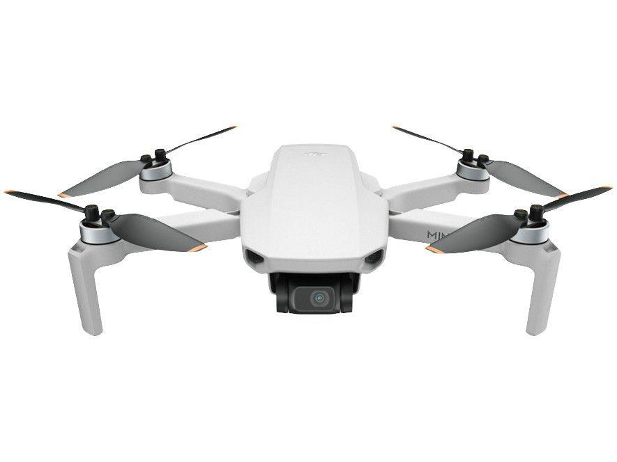 Drone DJI Mini SE Fly More Combo com Câmera - 2,7K com Controle Remoto Cinza Lançamento