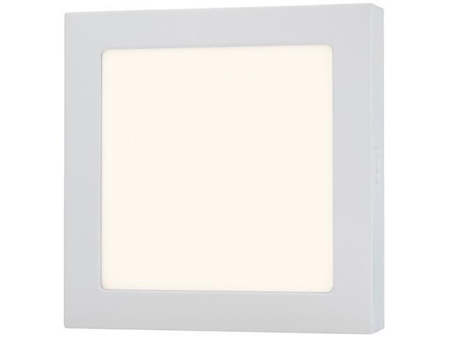 Plafon LED Inteligente Quadrado 18W Positivo - 11167149 Branco