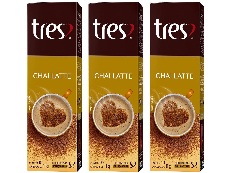 Cápsula de Café 3 Corações Chai Latte TRES - 30 unidades