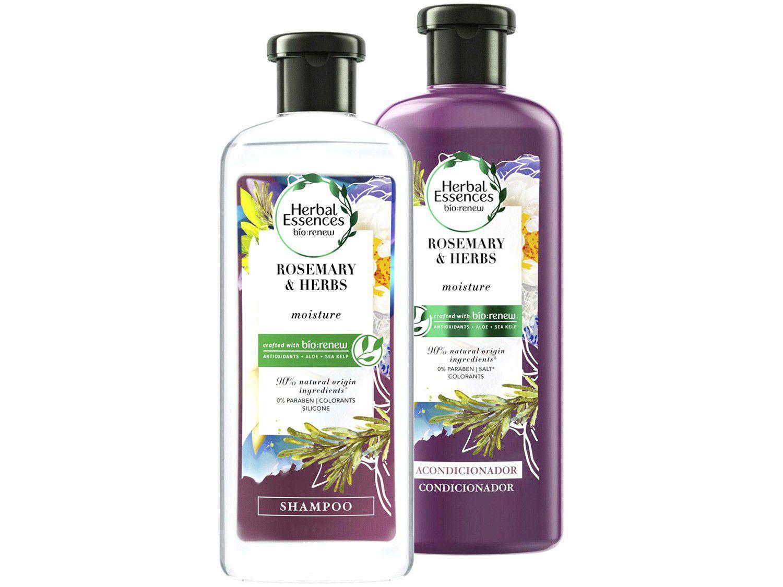 Kit Shampoo e Condicionador Herbal Essences - Alecrim e Ervas 400ml