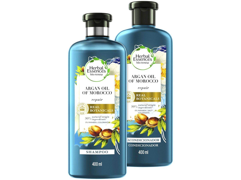 Kit Shampoo e Condicionador Herbal Essences - Óleo de Argan 400ml