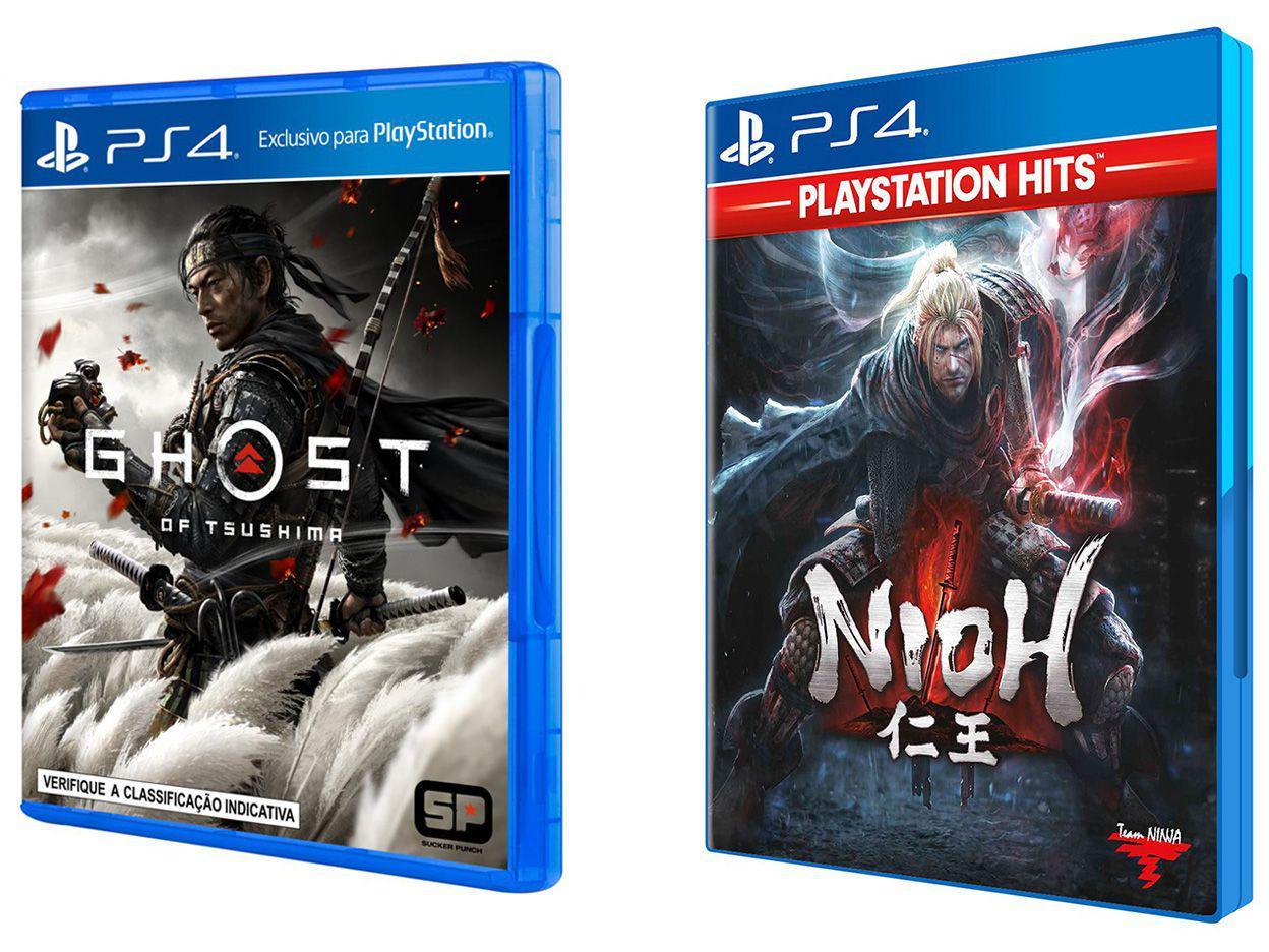 Ghost of Tsushima Sucker Punch + Nioh - Koei Tecmo Games para PS4