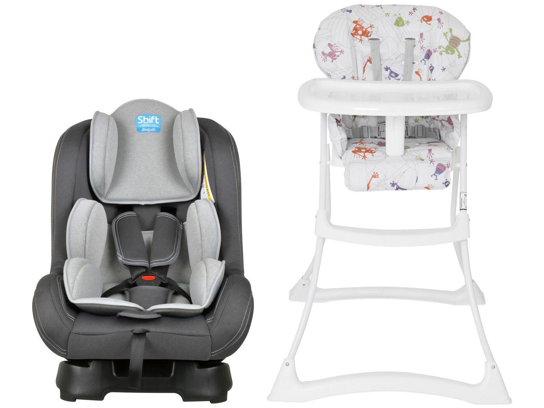 Cadeira de Alimentação Burigotto Papa & Soneca - Reclinável até 15 Kg + Cadeirinha para Auto
