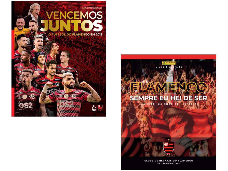 Kit Flamengo - Vencemos Juntos + Sempre Eu Hei De Ser
