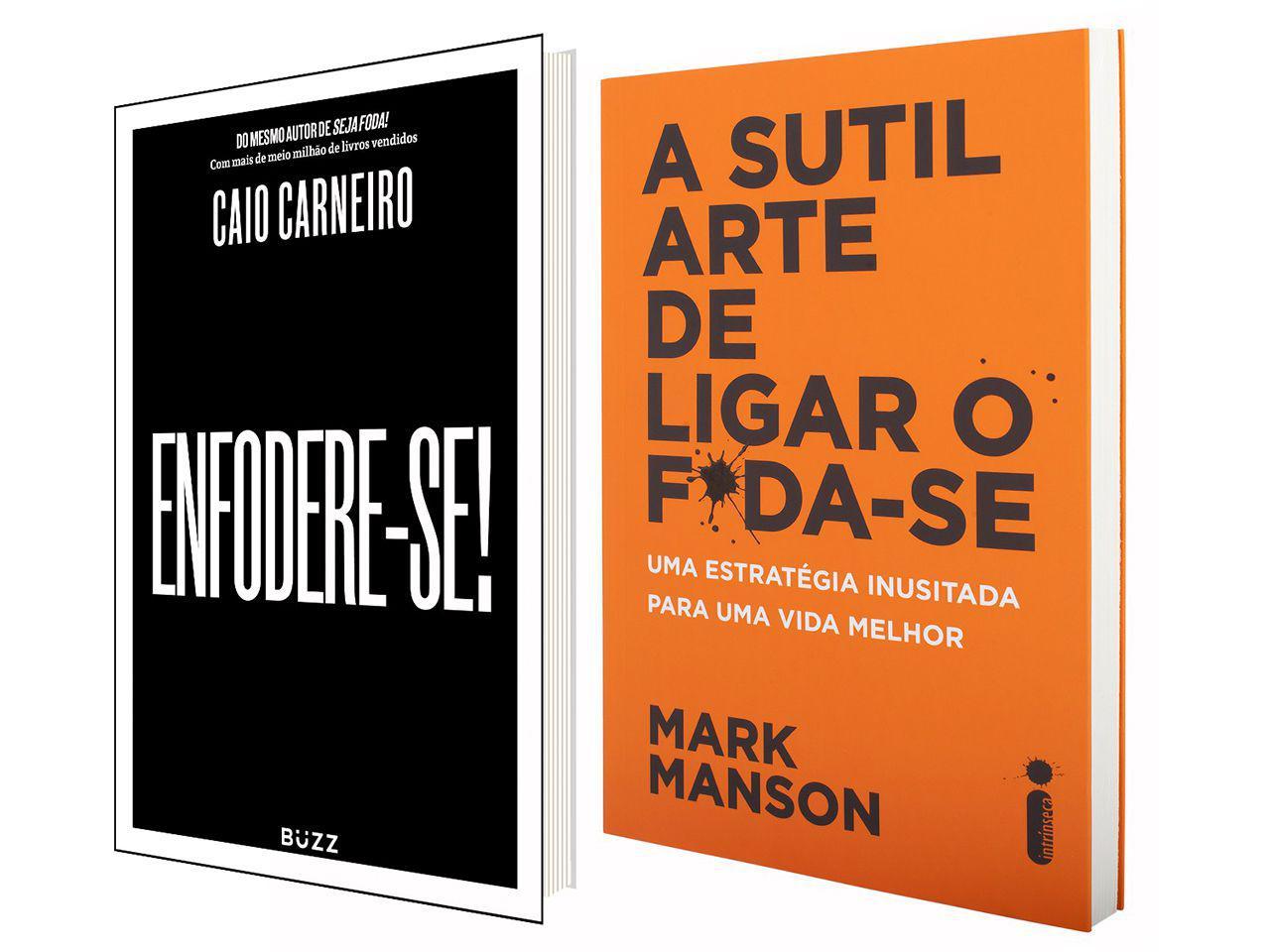 Kit Livros - A Sutil Arte de Ligar o F*da-se + Enfodere-se!