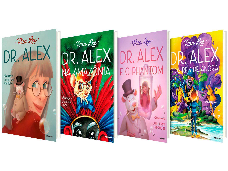 Kit Livros Dr. Alex - Rita Lee