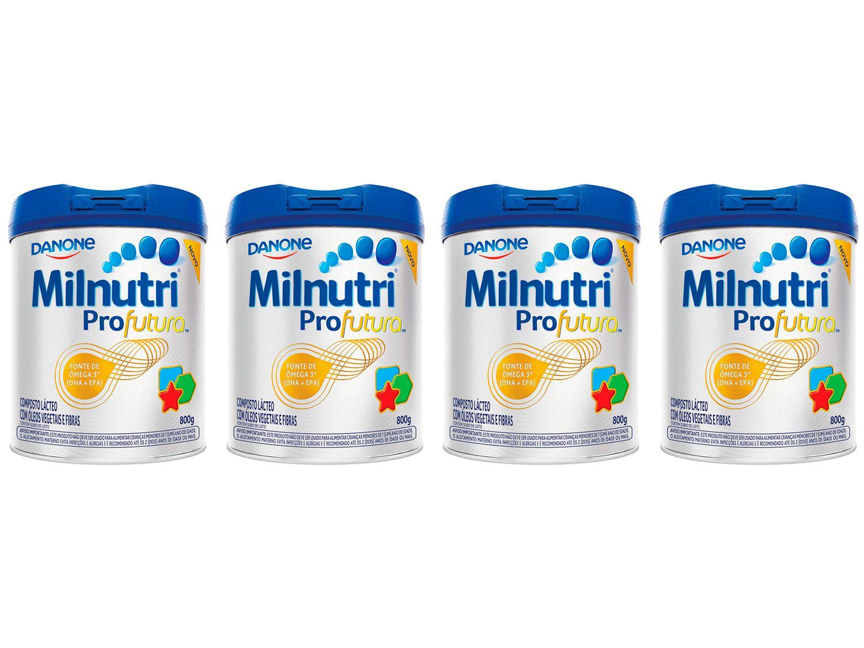 Composto Lácteo Milnutri Profutura Original - 800g 4 Unidades