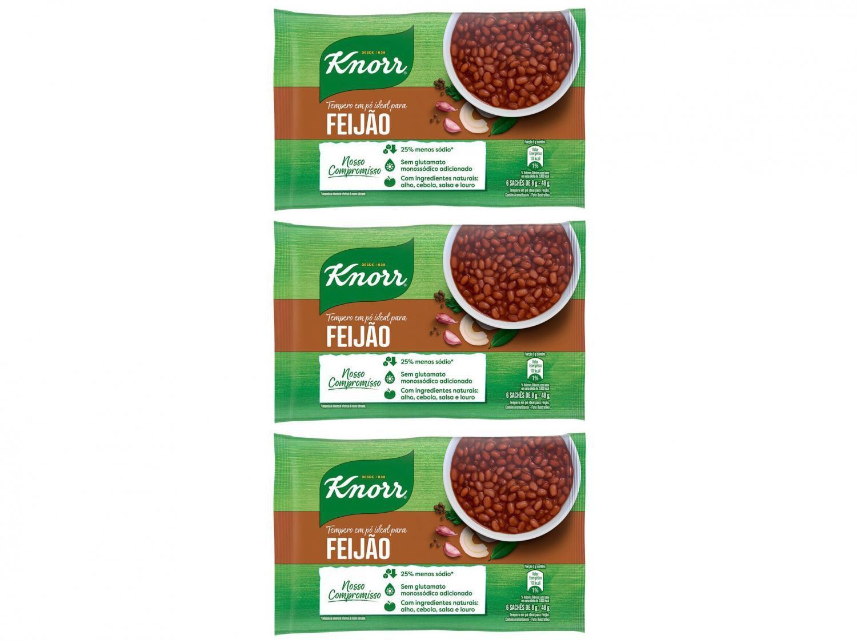 Kit Tempero Knorr Meu Feijão 48g - 3 Unidades