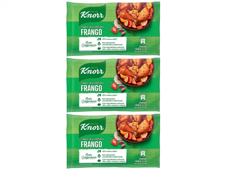Kit Tempero Frango Knorr 40g - 3 Unidades