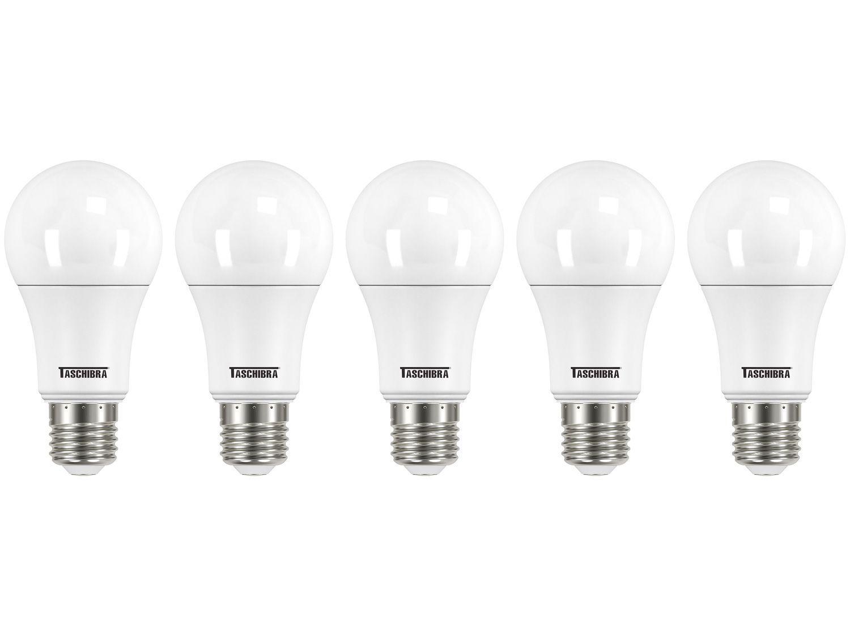 Kit Lâmpada LED 9W 6500K Branca Taschibra - TKL 900 5 Unidades