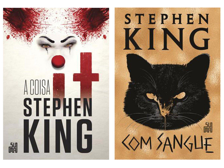 Kit Livros It: A Coisa + Com Sangue - Stephen King